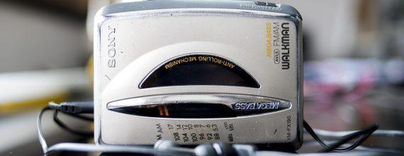 Photo d'un baladeur cassette